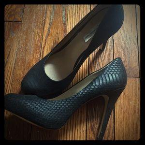 9.5 INC Concepts heels black